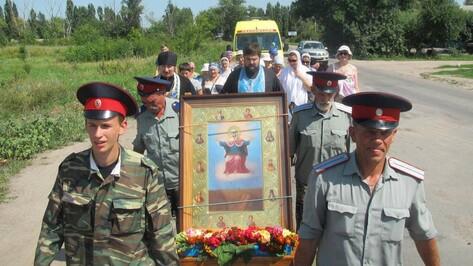 Через Павловский район прошел Ильинский казачий крестный ход