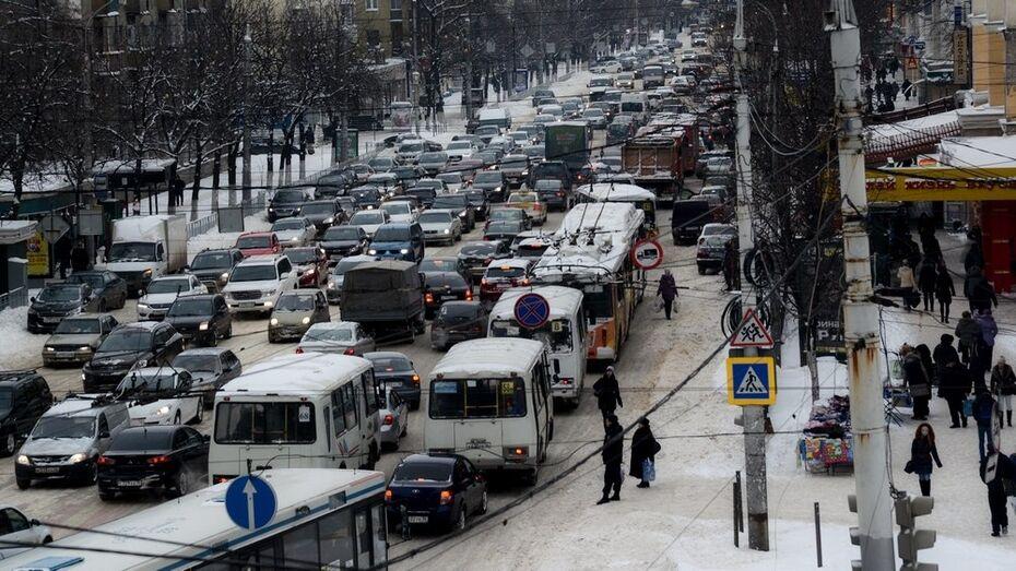 Воронежская область замкнула желтую зону в рейтинге безопасности дорог