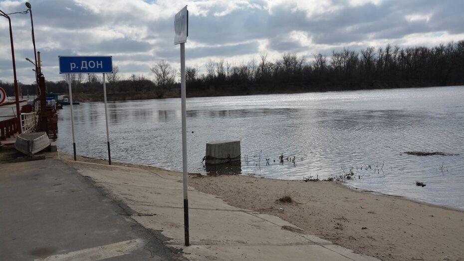 В Россошанском районе уровень воды в Дону ежедневно поднимается на 30 сантиметров