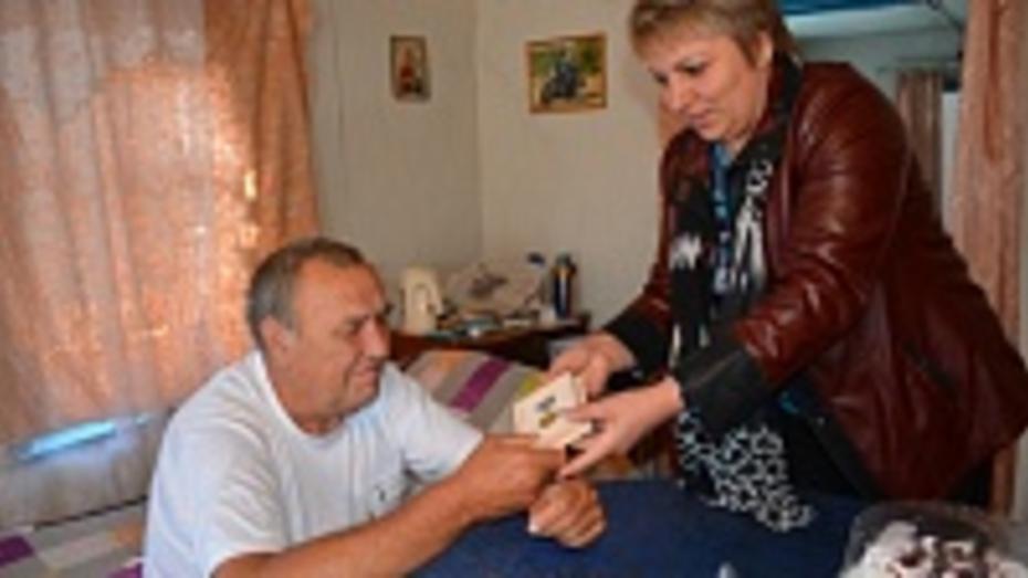 Житель Петропавловского района получил медаль как строитель БАМа