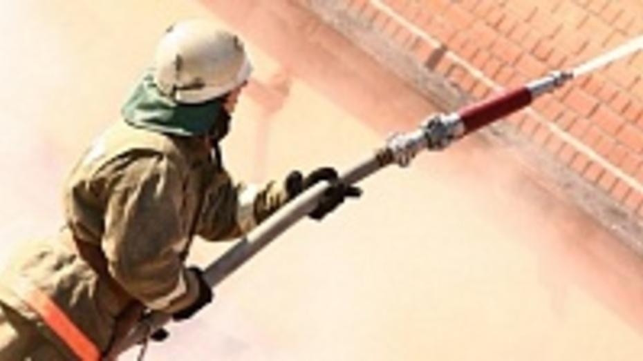 В Ольховатском районе начала работу добровольная пожарная команда
