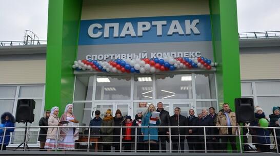 В кантемировском селе Митрофановка открыли спортивный комплекс