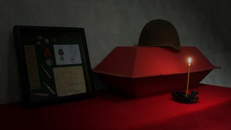Воронежские поисковики отправили останки бойца его внуку в Приморский край