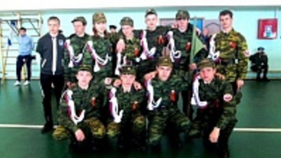 Поворинская команда вышла в финал военно-спортивной игры «Победа»