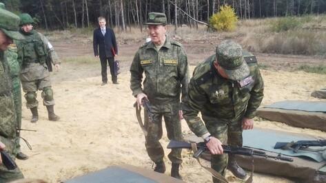 Воронежский губернатор принял участие в учениях на полигоне «Погоново»
