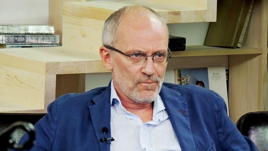 Александр Гордон в Воронеже: «Если начнется война, первым откажусь от американского гражданства»