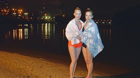 В крещенскую ночь окунулись 18 тыс жителей Воронежской области