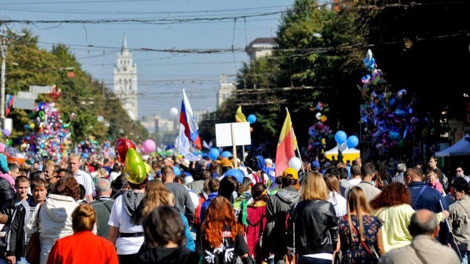 В Воронеже в День города появятся тематические «улицы»