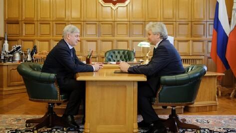 Председатель гордумы предложил создать в Воронеже аллею нобелевских лауреатов