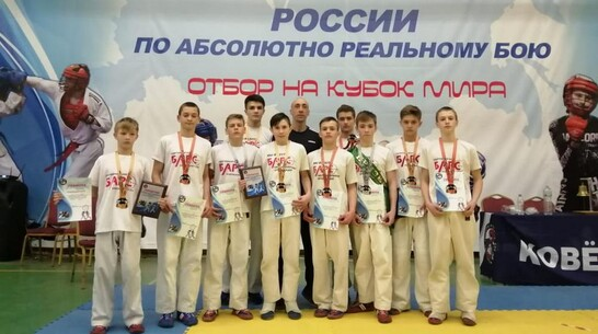 Борисоглебские рукопашники завоевали 4 «золота» на первенстве России