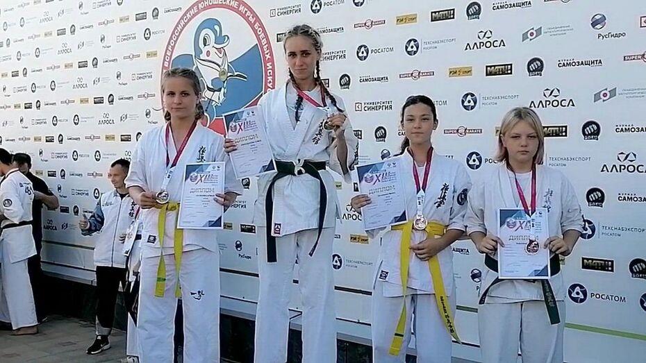 Поворинская каратистка взяла «серебро» всероссийских юношеских игр боевых искусств