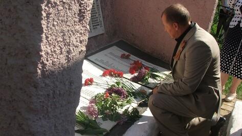 В Губарево Семилукского района появился мемориал в честь погибших односельчан