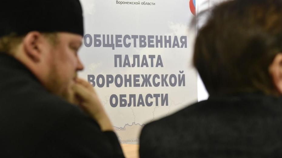 Воронежцам предложили создать новый логотип для региональной Общественной палаты