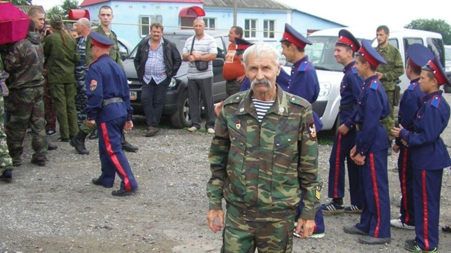 Богучарец Николай Новиков первым в области награжден Орденом Доблести