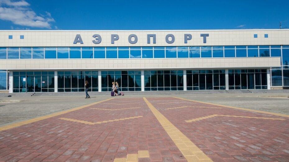 В международном аэропорту «Воронеж» усилили меры безопасности из-за вируса Коксаки