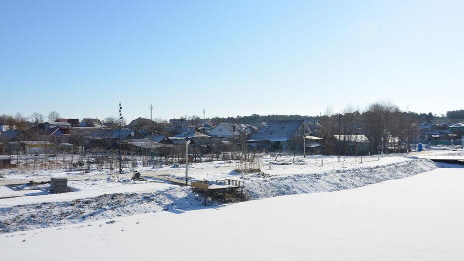 Благоустройство «Перламутрового озера» в Воронежской области завершат в мае