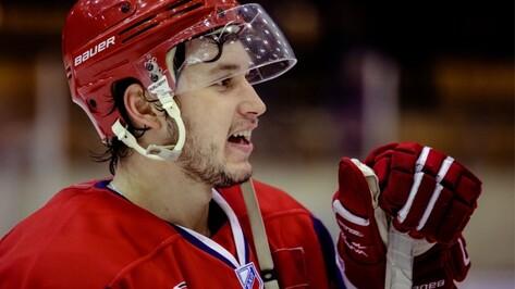«Буран» вернул воронежского хоккеиста Александра Черникова