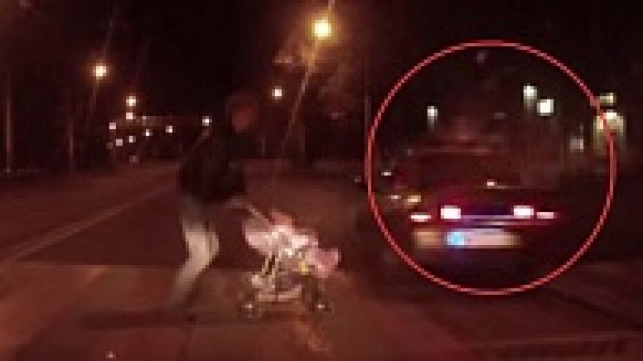 Пьяный воронежец на «ВАЗе» снес девушку на «зебре» (ВИДЕО)