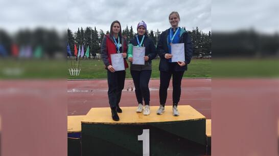 Таловская спортсменка выиграла «золото» всероссийских соревнований по метанию диска