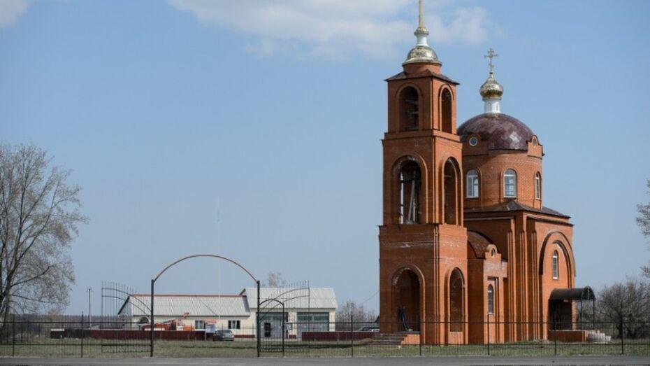 В Воронежской области предприниматели восстановят храм в селе Костино-Отделец