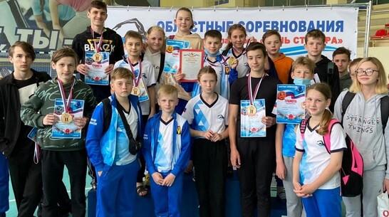 Борисоглебские пловцы завоевали 6 золотых медалей на областных соревнованиях