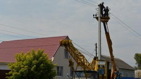 В нижнедевицком селе капитально отремонтируют электролинии