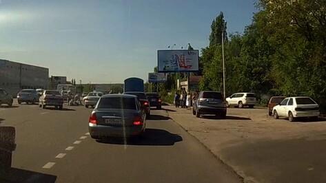 На проспекте Патриотов в Воронеже сбили 46-летнюю женщину