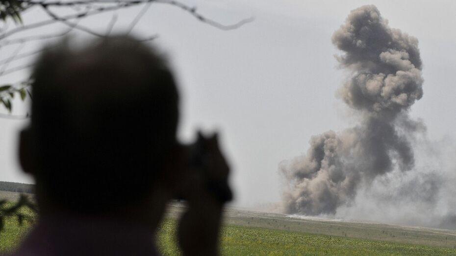 Воронежцы пожаловались на взрывы на полигоне «Погоново»