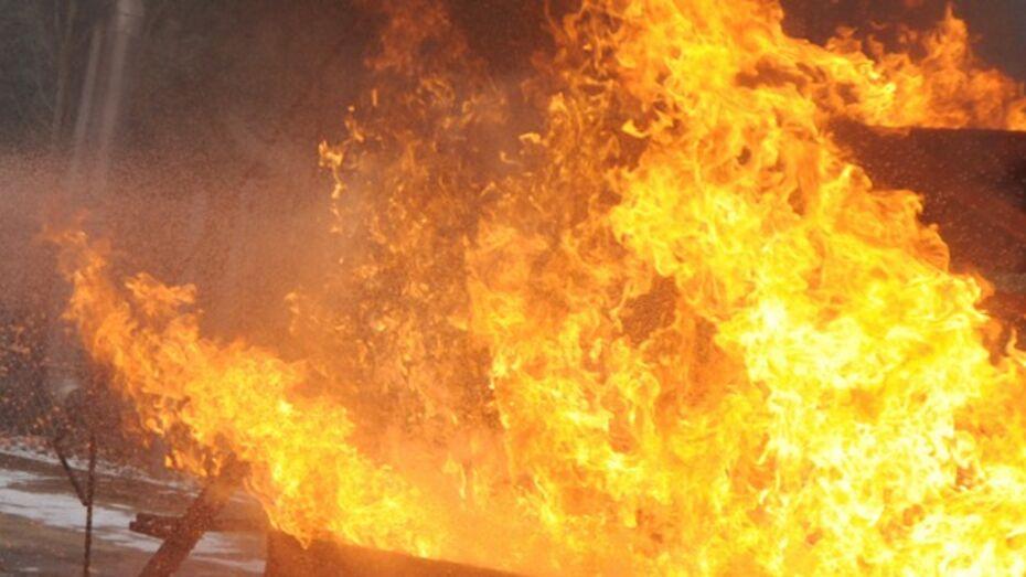 В Лискинском районе соседи спасли из горящего дома  двух малышей