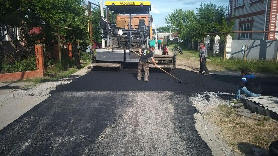 Ремонт уличных дорог проведут во всех поселениях Верхнемамонского района