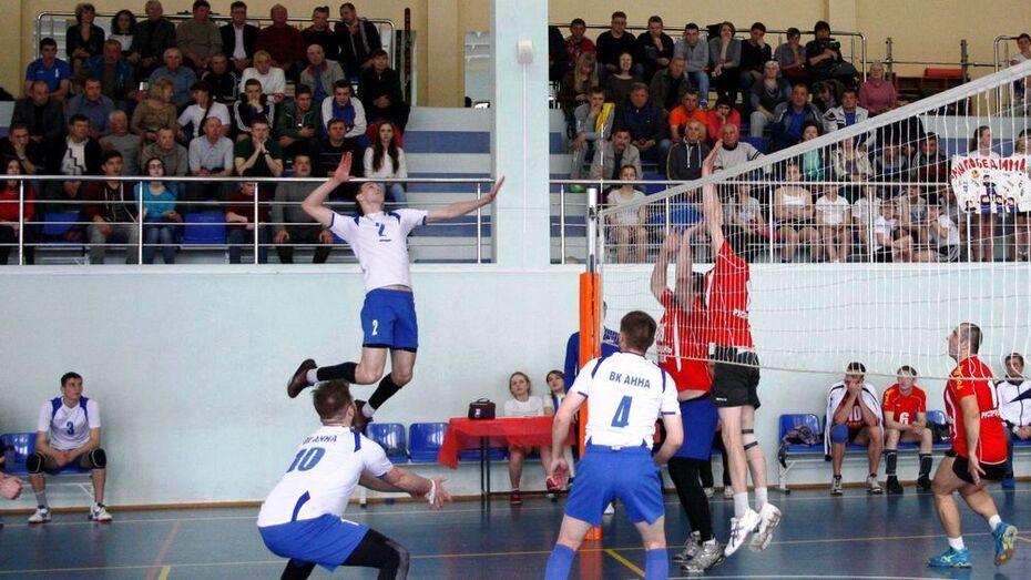 Аннинские волейболисты взяли «серебро» на областном первенстве