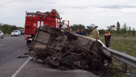Воронежец на «шестерке» погиб при столкновении с фурой