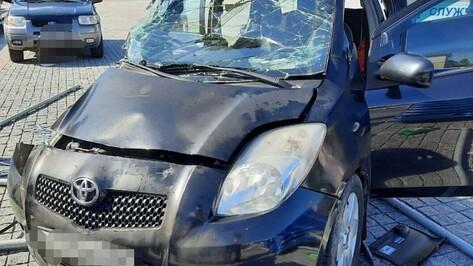 При столкновении иномарок на площади Ленина в Воронеже пострадали 3 человека