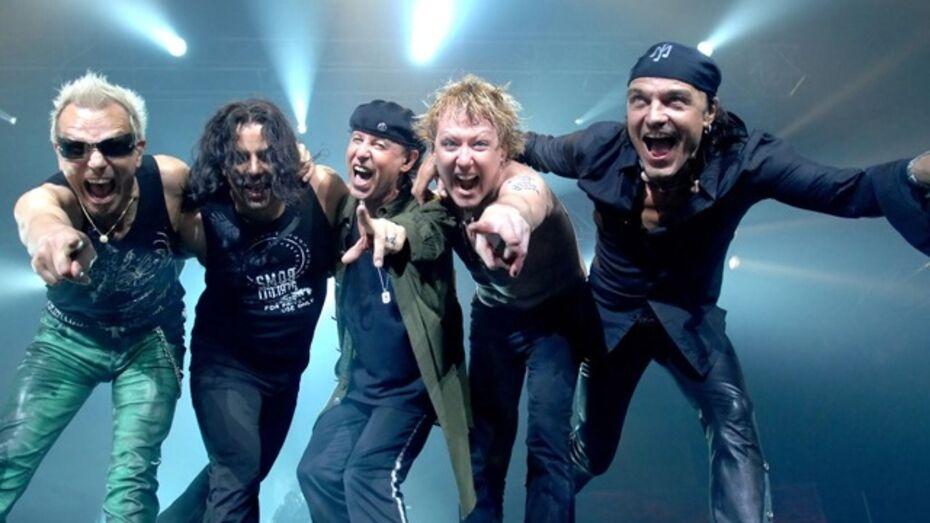 Группа Scorpions подтвердила свое выступление в Воронеже