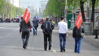 Воронежцы пройдут на Первомай через металлоискатели