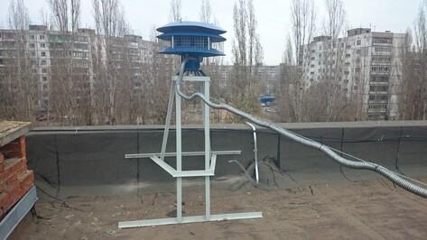 В Коминтерновском районе Воронежа ранним утром зазвучала тревожная сирена