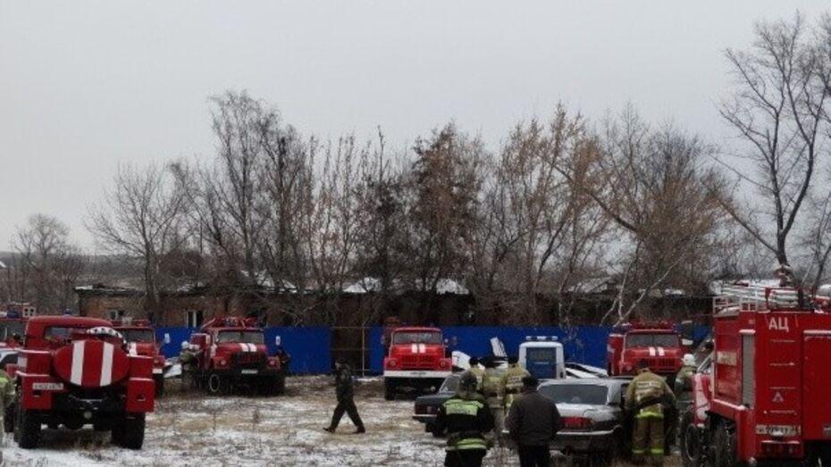 Спасатели нашли тела 19 погибших при пожаре в психинтернате в Воронежской области