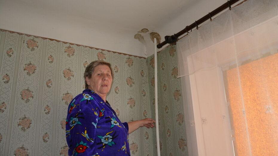 В Поворино во время капремонта затопило многоквартирный дом