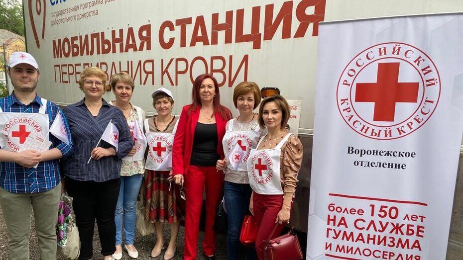 «Красный крест» в Воронеже организовал День донора для медработников
