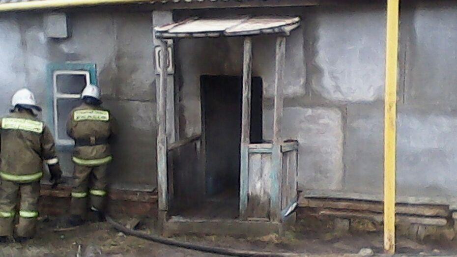 В Воронежской области 35-летний мужчина погиб на пожаре в собственном доме