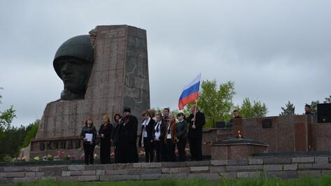 В Петропавловском районе прошел автопробег в честь Дня Победы