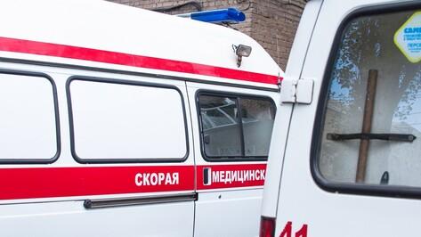 В Воронежской области столкнулись 6 машин: пострадали двое