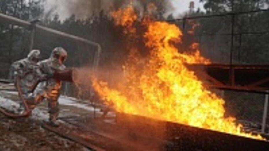 В первый день нового года на пожаре погиб 75-летний житель Борисоглебска