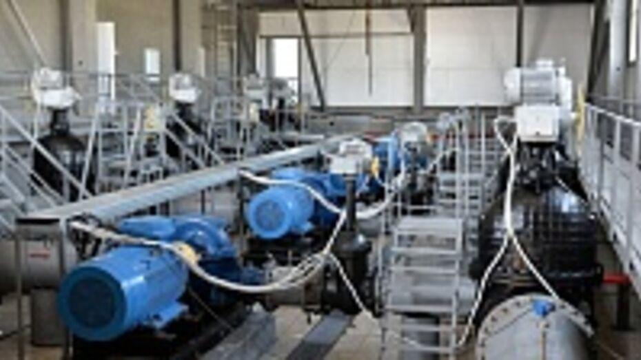 В Борисоглебске запустили новый водозабор «Ростань»