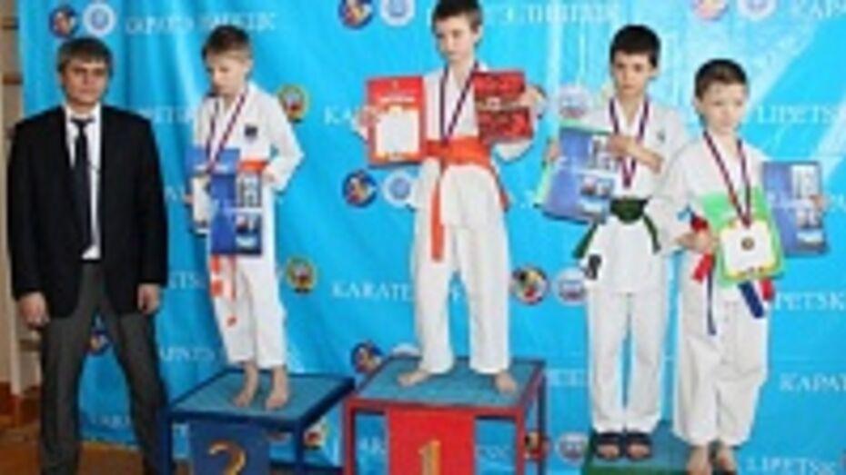 Семилукские спортсмены стали призерами первенства Липецкой области по карате