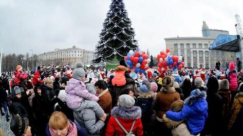 Для воронежцев впервые подготовили новогоднюю программу на площади Ленина до 1:00