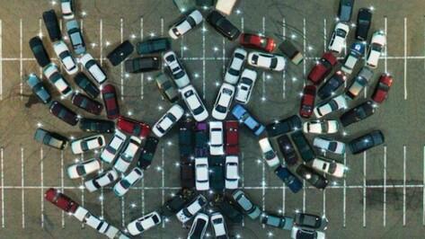 Воронежских автомобилистов позвали на флешмоб ко Дню России