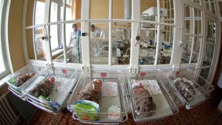 В Воронеже родилась вторая тройня за год