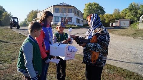 В Нижнедевицком районе в ходе акции «Белый цветок» собрали более 187 тысяч рублей