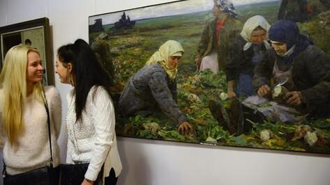 В Воронеже открылась выставка живописца Михаила Лихачева